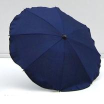 Temno moder UV senčnik za voziček Babylux