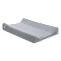 Siva PREVLEKA za previjalno blazino STONE GREY 50x70 cm, Jollein®