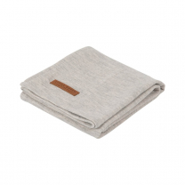 Siva swaddle odejica 120 x 120 cm - Pure Grey, Little Dutch