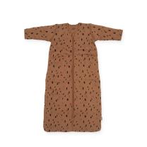 Spalna vreča z rokavi karamel rjava PIKE, 18 m+, Jollein
