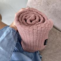 Umazano roza MERINO odeja METULJ, Lullalove 90x100 cm - PREMIUM