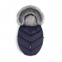 Temno modra zimska vreča MINI Moose YUKON, 84x50 cm, Cottonmoose
