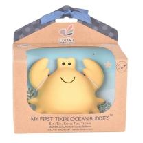 Gumijasto grizalo za dojenčka z ropotuljico RAK (0m+), TIKIRI
