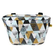 Stranska previjalna torba z vzorcem trikotnikov za voziček
