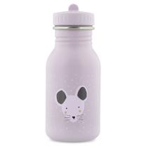 Svetlo siva otroška steklenička MRS. MOUSE (350 ml), trixie