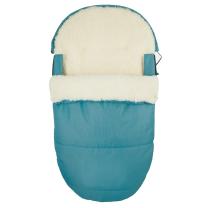 JEANS TURKIZNA ovalna zimska vreča  95 cm - 90% ovčja volna
