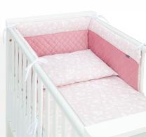 UMAZANO ROZA 3-delna posteljnina GOZD 120x90 cm - PREMIUM, MAMO-TATO