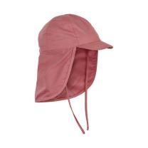 Roza klobuček - kapa s šiltom za dojenčka z UV zaščito (UPF 50+) 6-12 m – ROSETTE, En Fant
