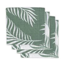 Zelena tetra plenica NATURA (70X70 cm) – 4 kosi, Jollein®