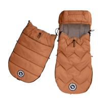 Karamel rjava zimska vreča ARCTIC, 110x50 cm, Cottonmoose