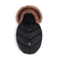 Črna zimska vreča MINI Moose YUKON, 84x50 cm, Cottonmoose