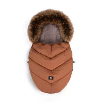 Karamel rjava zimska vreča MINI Moose YUKON, 84x50 cm, Cottonmoose