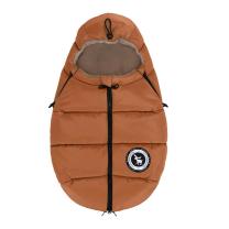 Karamel rjava zimska vreča MONTANA, 84x50 cm, Cottonmoose