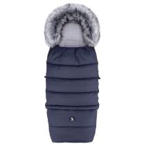 Temno modra zimska vreča COMBI 3v1 YUKON 116x49 cm, Cottonmoose
