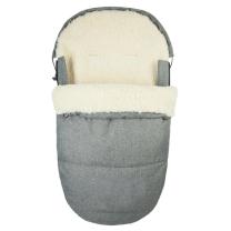 JEANS SIVA ovalna zimska vreča  95 cm - 90% ovčja volna